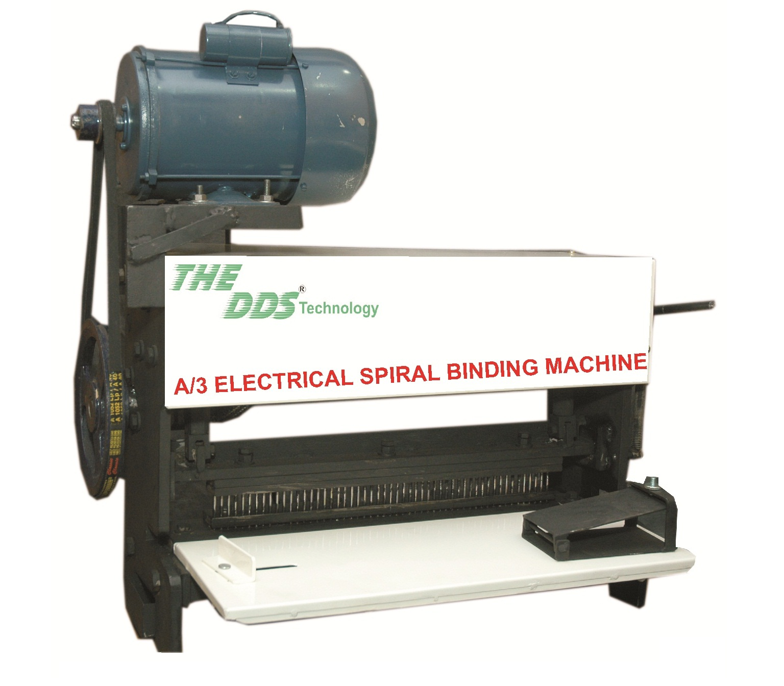 DDS Electric Spiral book binding Machine